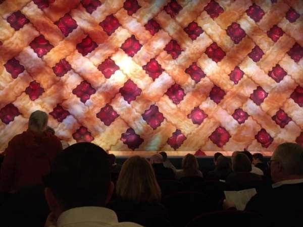 Brooks Atkinson Theatre, section: Orchestra C, row: E, seat: 105