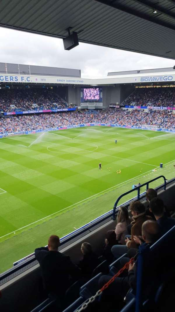Ibrox Stadium, section: Club Deck, row: E, seat: 288