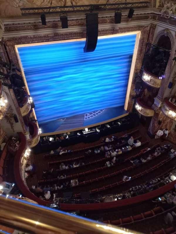 Novello Theatre, section: Balcony, row: A, seat: 24