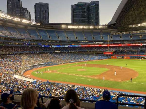 Rogers Centre, section: 216L, row: 4, seat: 101