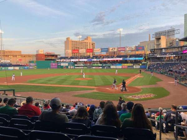 Dunkin' Donuts Park, section: 113, row: P, seat: 2