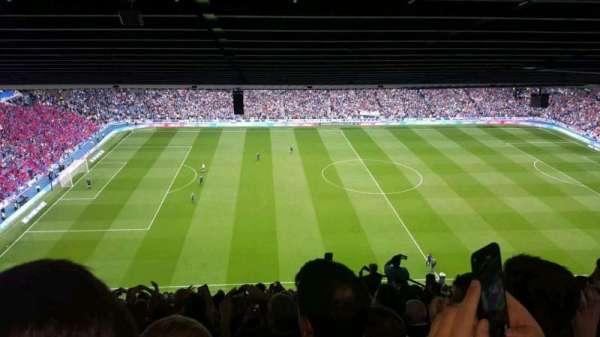 Ibrox Stadium, section: CD5, row: z