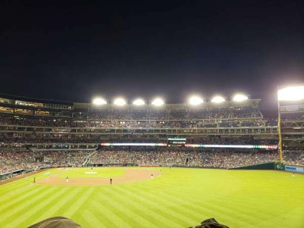 Nationals Park, section: 239, row: D, seat: 9