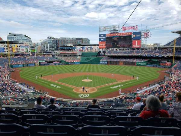 Nationals Park, section: 214, row: H, seat: 14