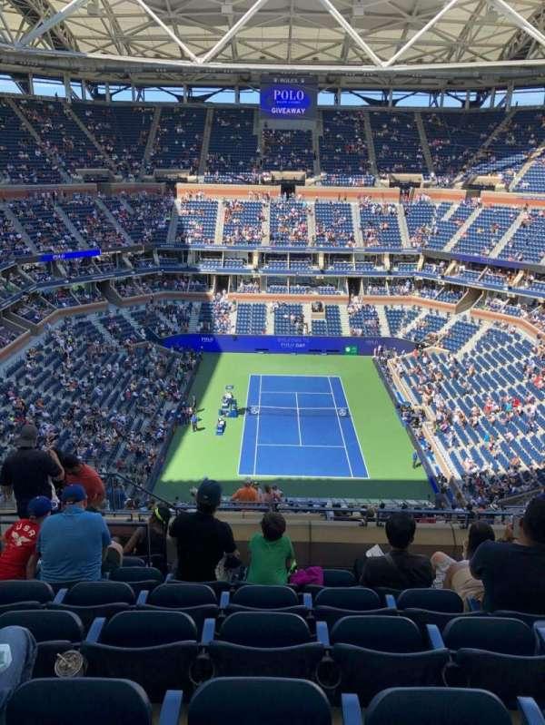 Arthur Ashe Stadium, section: 301, row: K, seat: 14