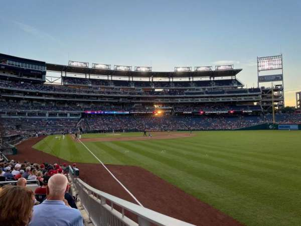 Nationals Park, section: 137, row: U, seat: 18