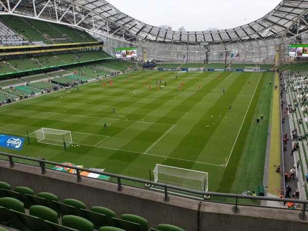 Aviva Stadium, section: 512, row: E, seat: 19
