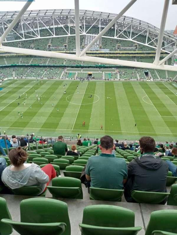 Aviva Stadium, section: 504, row: FF, seat: 8