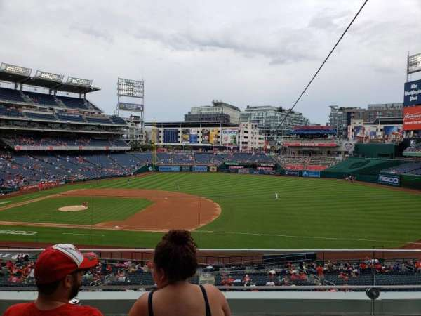 Nationals Park, section: 221, row: C, seat: 6