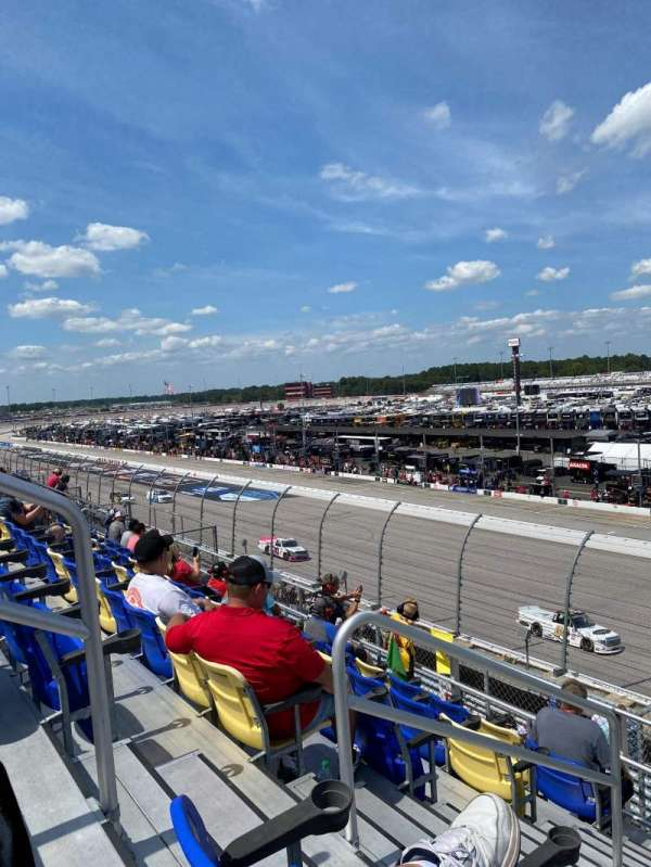 Darlington Raceway, section: Tyler tower, row: 6, seat: 16