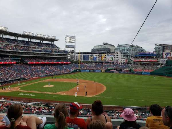 Nationals Park, section: 221, row: D, seat: 5
