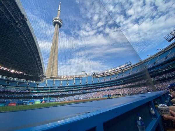 Rogers Centre, section: 130BR, row: 1, seat: 6