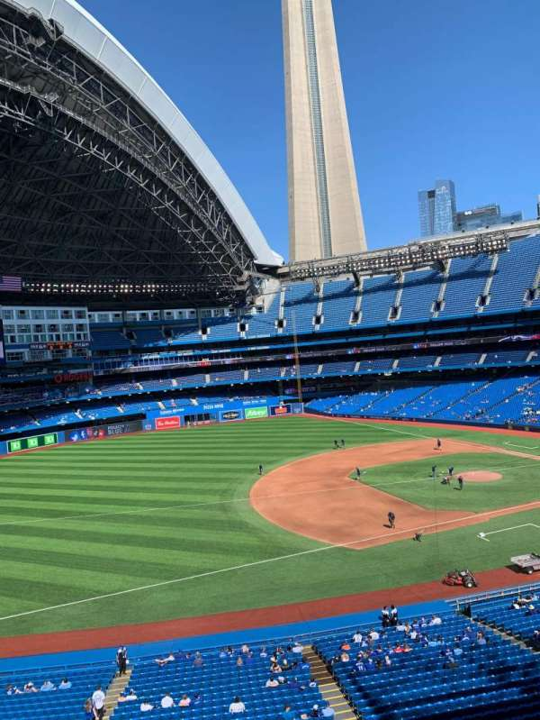 Rogers Centre, section: Suite 350, row: 1, seat: 1