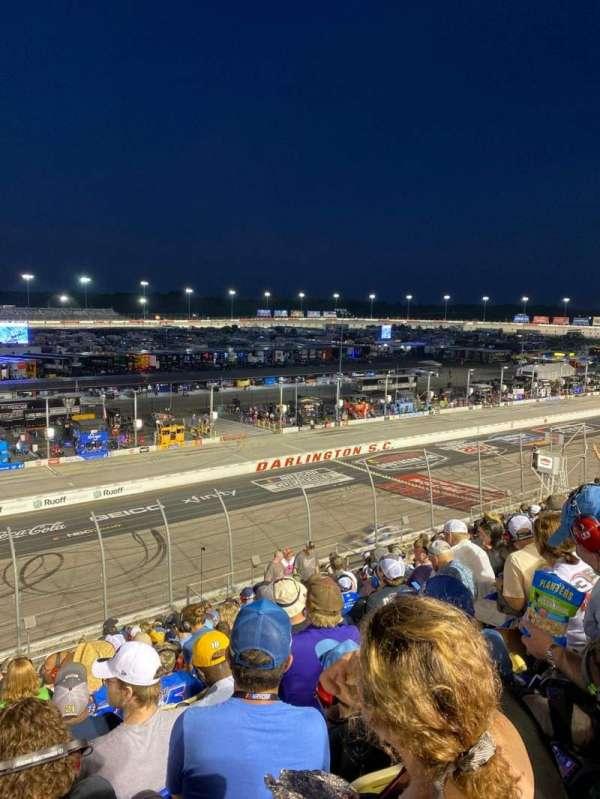 Darlington Raceway, section: Tyler Tower P, row: 14, seat: 15