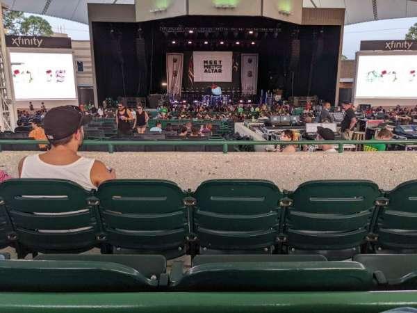 Cynthia Woods Mitchell Pavilion, section: 107, row: B, seat: 23