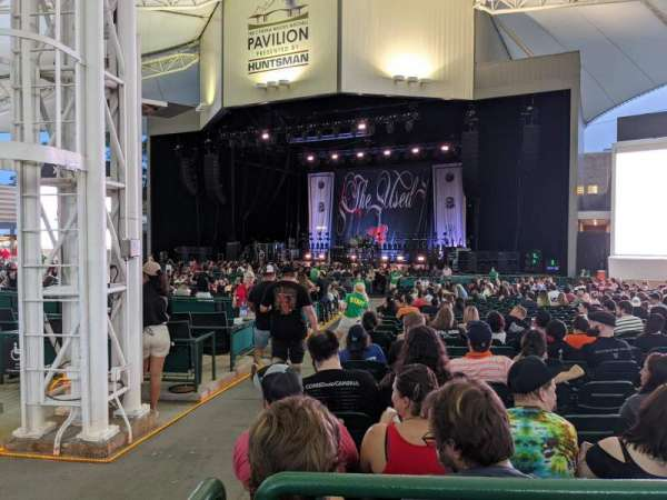 Cynthia Woods Mitchell Pavilion, section: 103, row: HH, seat: 1