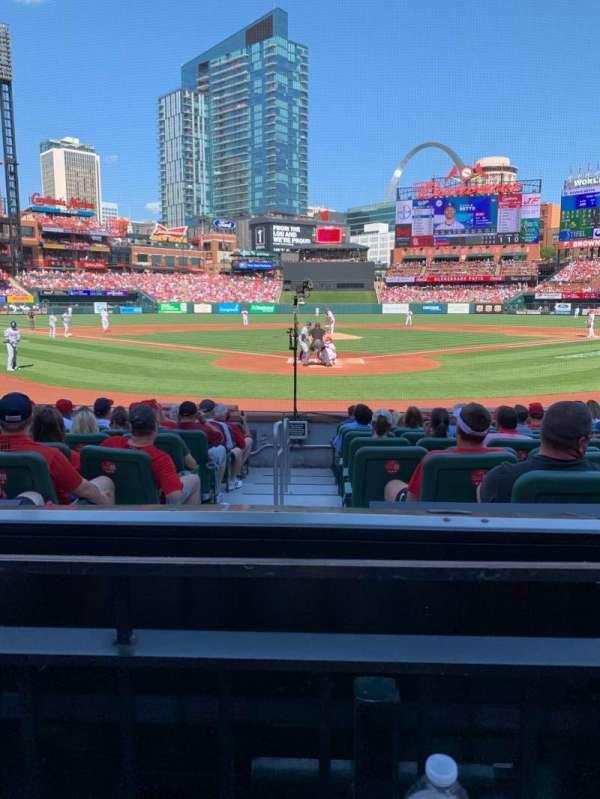 Busch Stadium, section: 150, row: 1, seat: 7