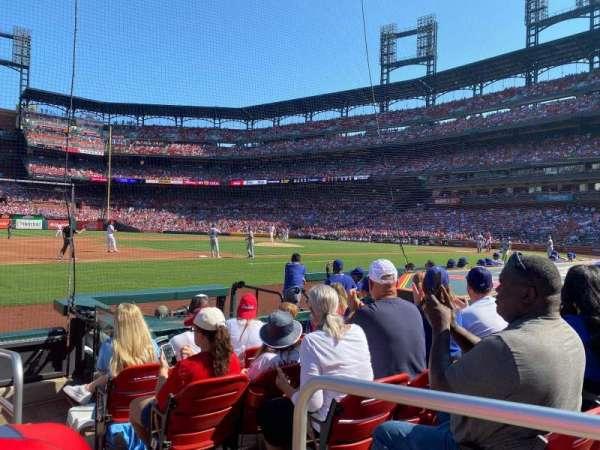 Busch Stadium, section: 159D, row: G, seat: 1