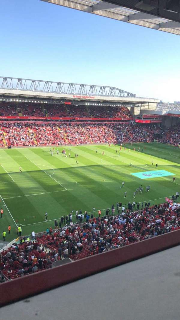 Anfield, section: U1, row: 59, seat: 18