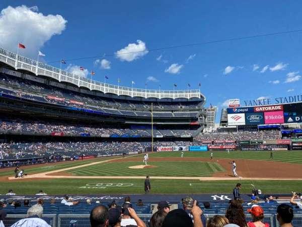 Yankee Stadium, section: 116, row: 6, seat: 7