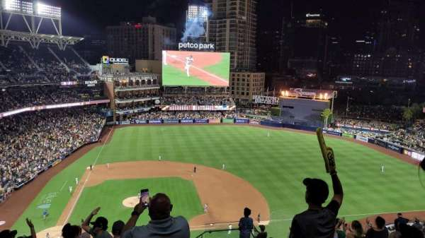 PETCO Park, section: 309, row: 17, seat: 23