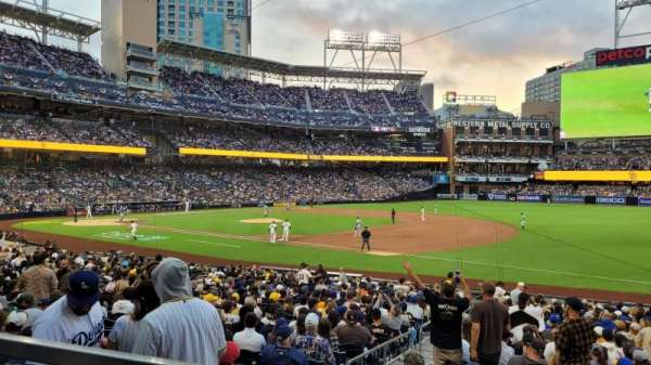 PETCO Park, section: 115, row: 27, seat: 3