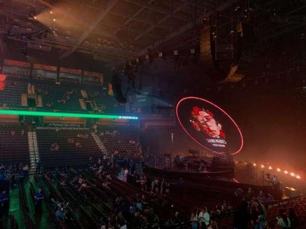 Mohegan Sun Arena, section: 16, row: Q, seat: 7