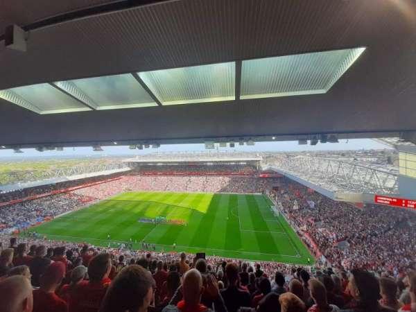 Anfield, section: U7, row: 69, seat: 198