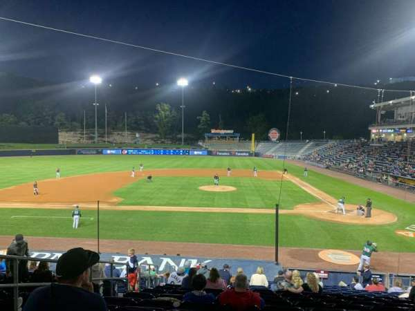 PNC Field, section: 24, row: 17, seat: 11