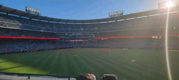 Angel Stadium, section: 240, row: d, seat: 8