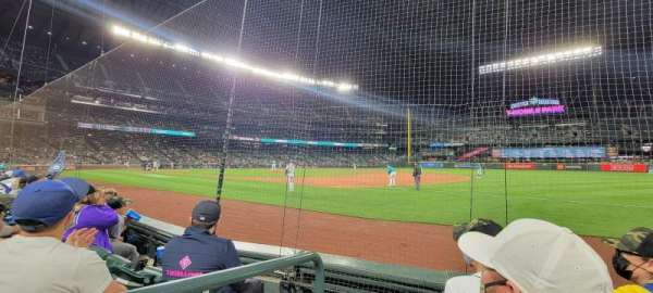 T-Mobile Park, section: 118, row: 3, seat: 1