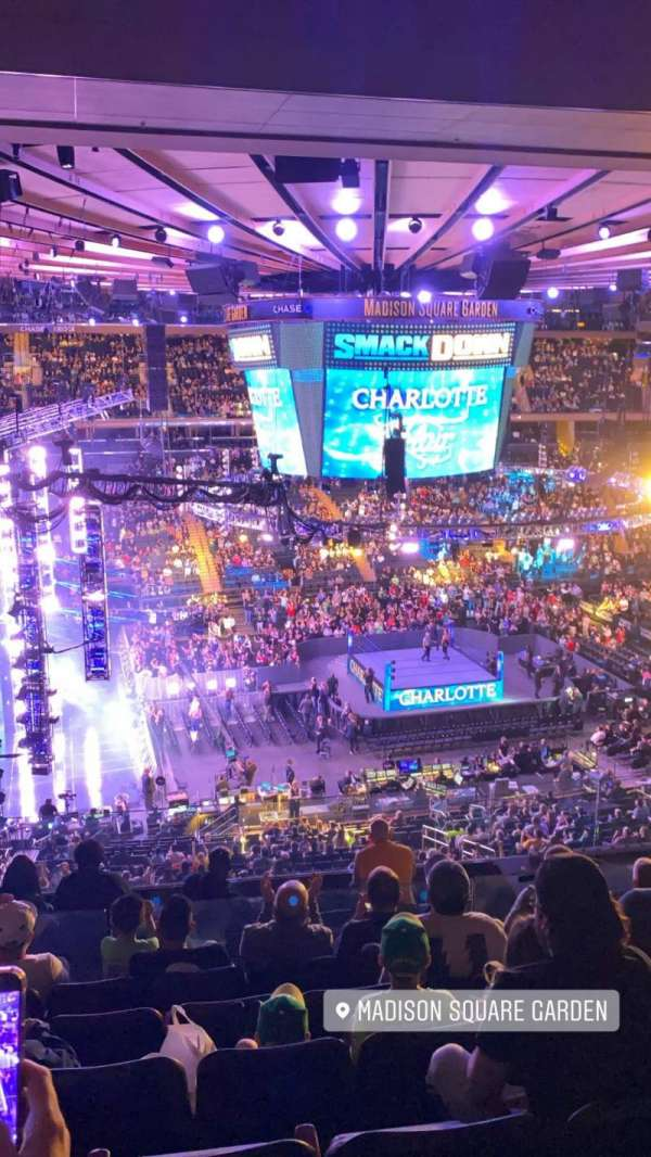 Madison Square Garden, section: 223, row: 10, seat: 2