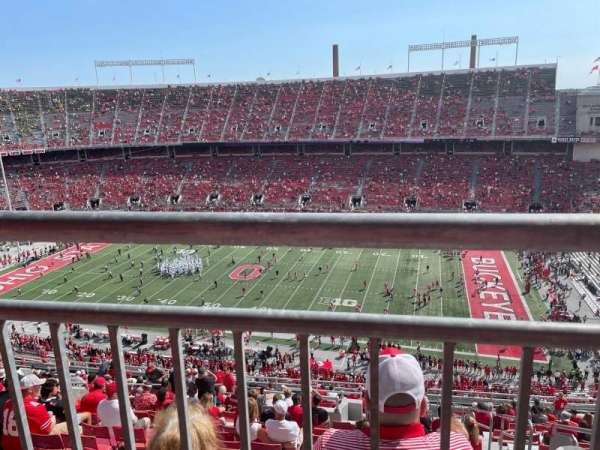 Ohio Stadium, section: 23D, row: 1, seat: 1