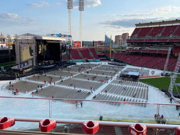 Great American Ball Park, section: 413, row: B, seat: 17