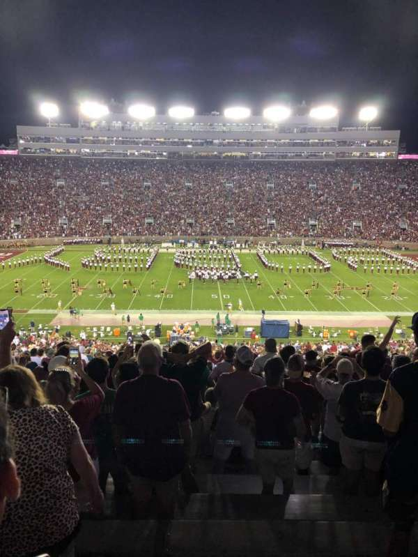 Bobby Bowden Field at Doak Campbell Stadium, section: 10, row: 68, seat: 25