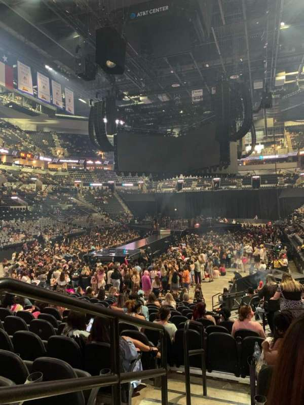 AT&T Center, section: 127, row: 20, seat: 5