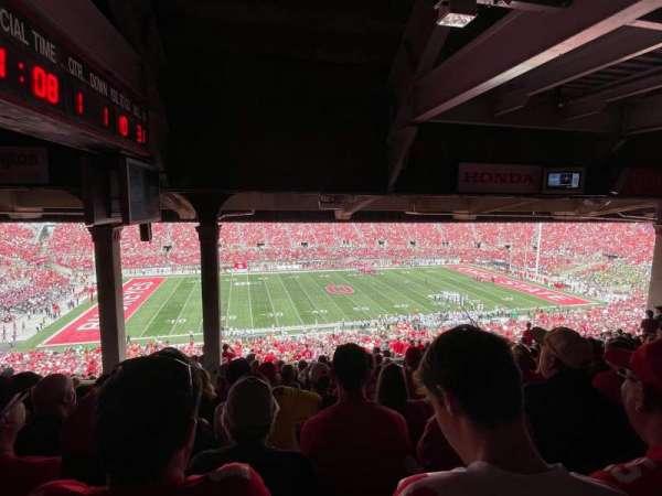 Ohio Stadium, section: 22B, row: 13, seat: 19