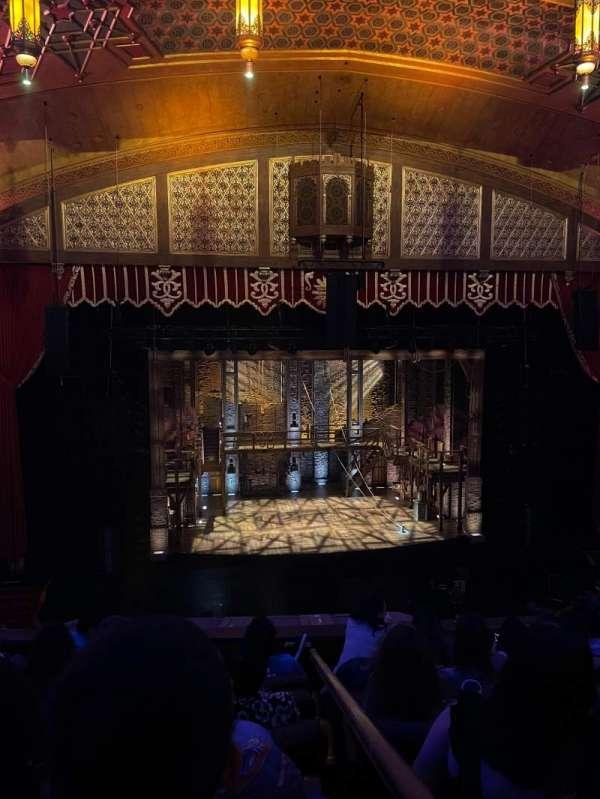 Fox Theatre (Atlanta), section: Loge Left B, row: FF, seat: 117