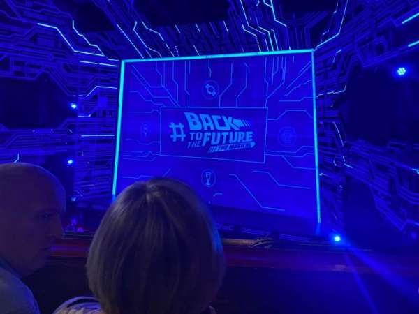 Adelphi Theatre, section: Grand Circle, row: B, seat: 8