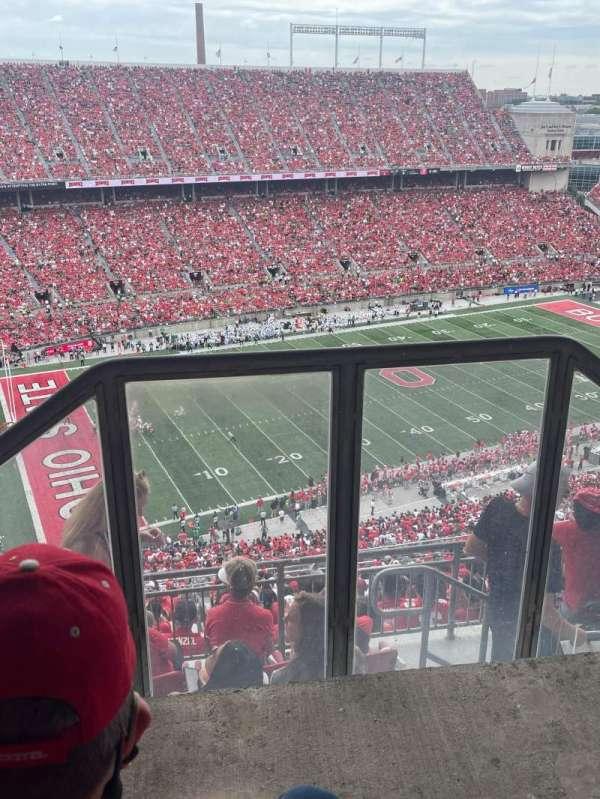 Ohio Stadium, section: 15D, row: 3, seat: 1
