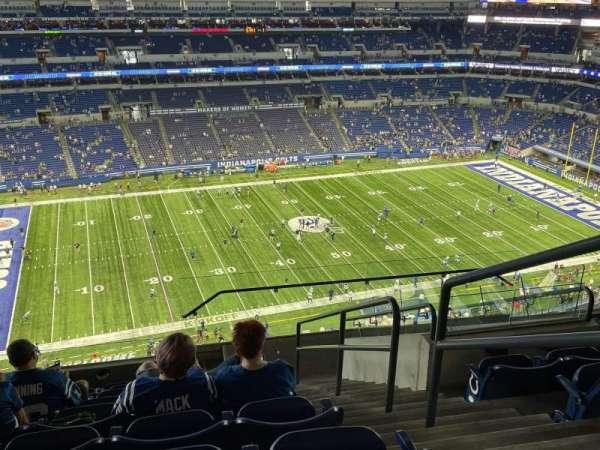 Lucas Oil Stadium, section: 643, row: 9, seat: 2