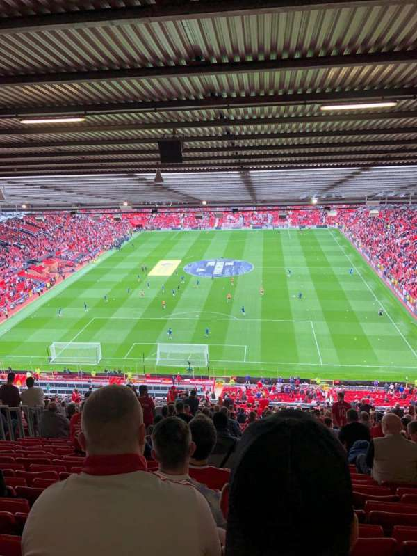 Old Trafford, section: E334, row: 37, seat: 65