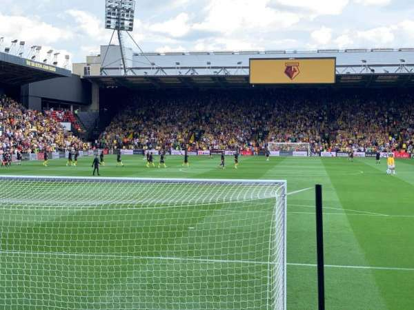Vicarage Road, section: VRS3, row: HH