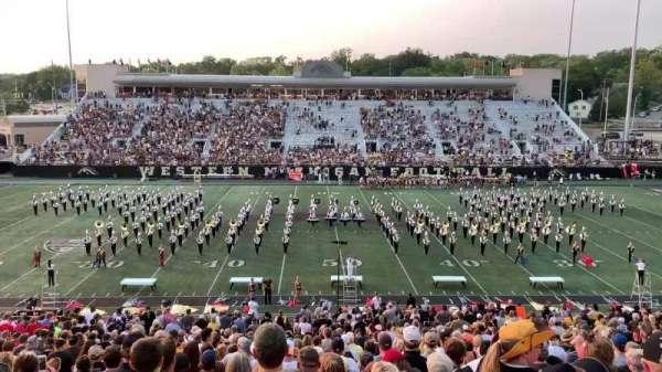 Waldo Stadium, section: D, row: 34, seat: 10