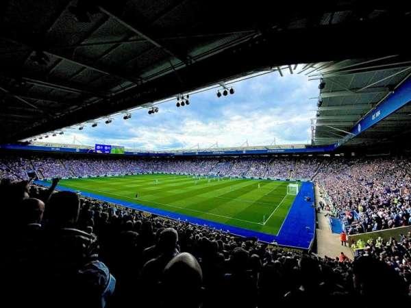 King Power Stadium, section: M3, row: Z, seat: 353