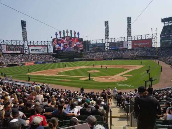 Guaranteed Rate Field, section: 134, row: 26, seat: 1