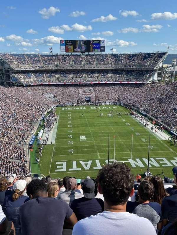 Beaver Stadium, section: NGU, row: 91
