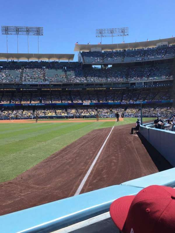 Dodger Stadium, section: 49FD, row: A, seat: 9