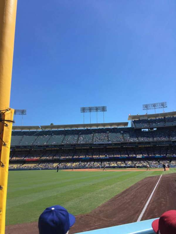 Dodger Stadium, section: 49FD, row: A, seat: 10