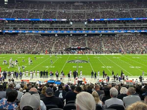 Allegiant Stadium, section: C112, row: 29, seat: 10